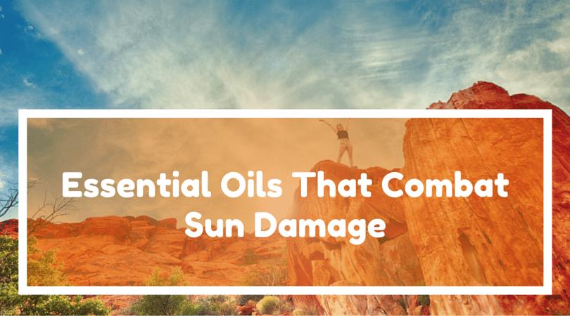 Essential Oils That Combat Sun Damage