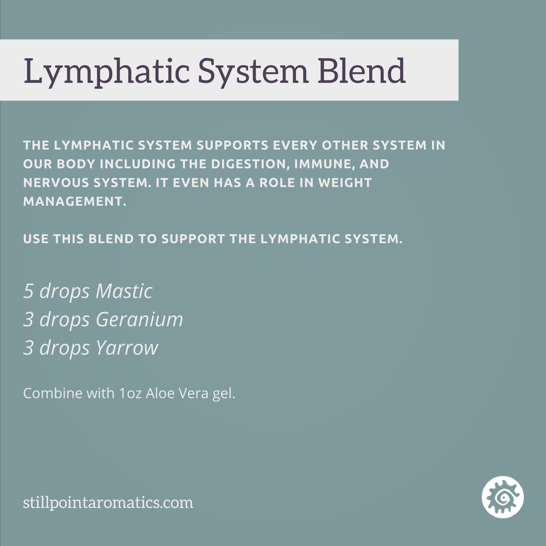 Using Essential Oils To Support The Lymphatic System